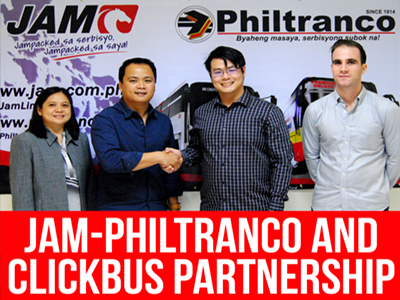 Jam-Philtranco & Clickbus Partnership