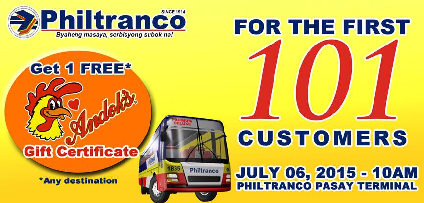 Philtranco @ 101 Anniversary Treat
