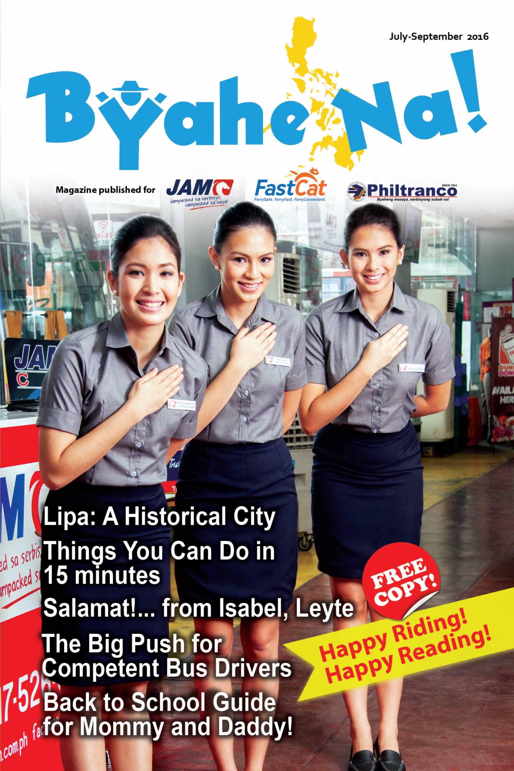 Byahe Na! 10th issue