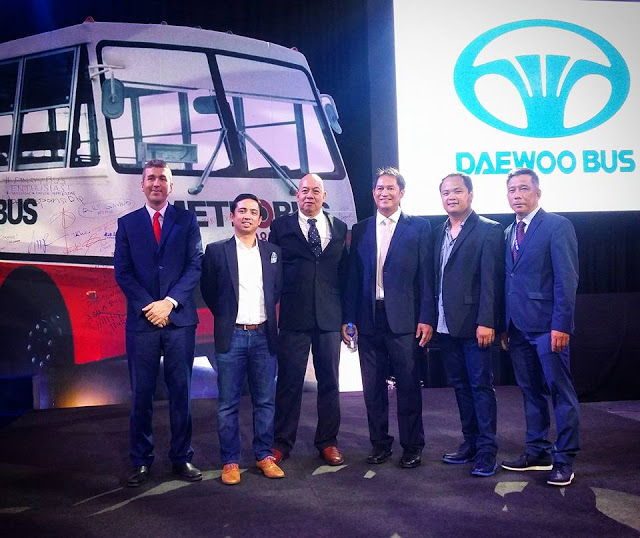 Proudly Pinoy-Made new Daewoo with ultra luxe transportation