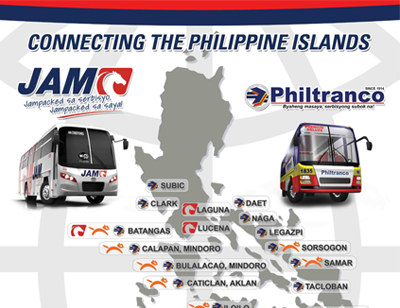 JAM, Philtranco & FastCat: Connecting the Philippine Islands