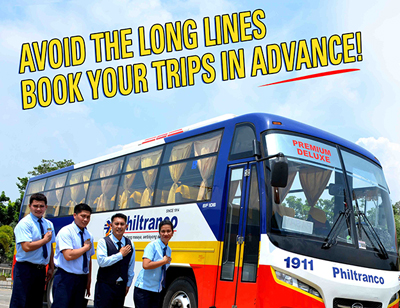 Avoid the long lines, book your trips in ADVANCE