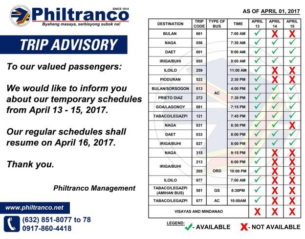 philtranco_holy-week-schedule-2017