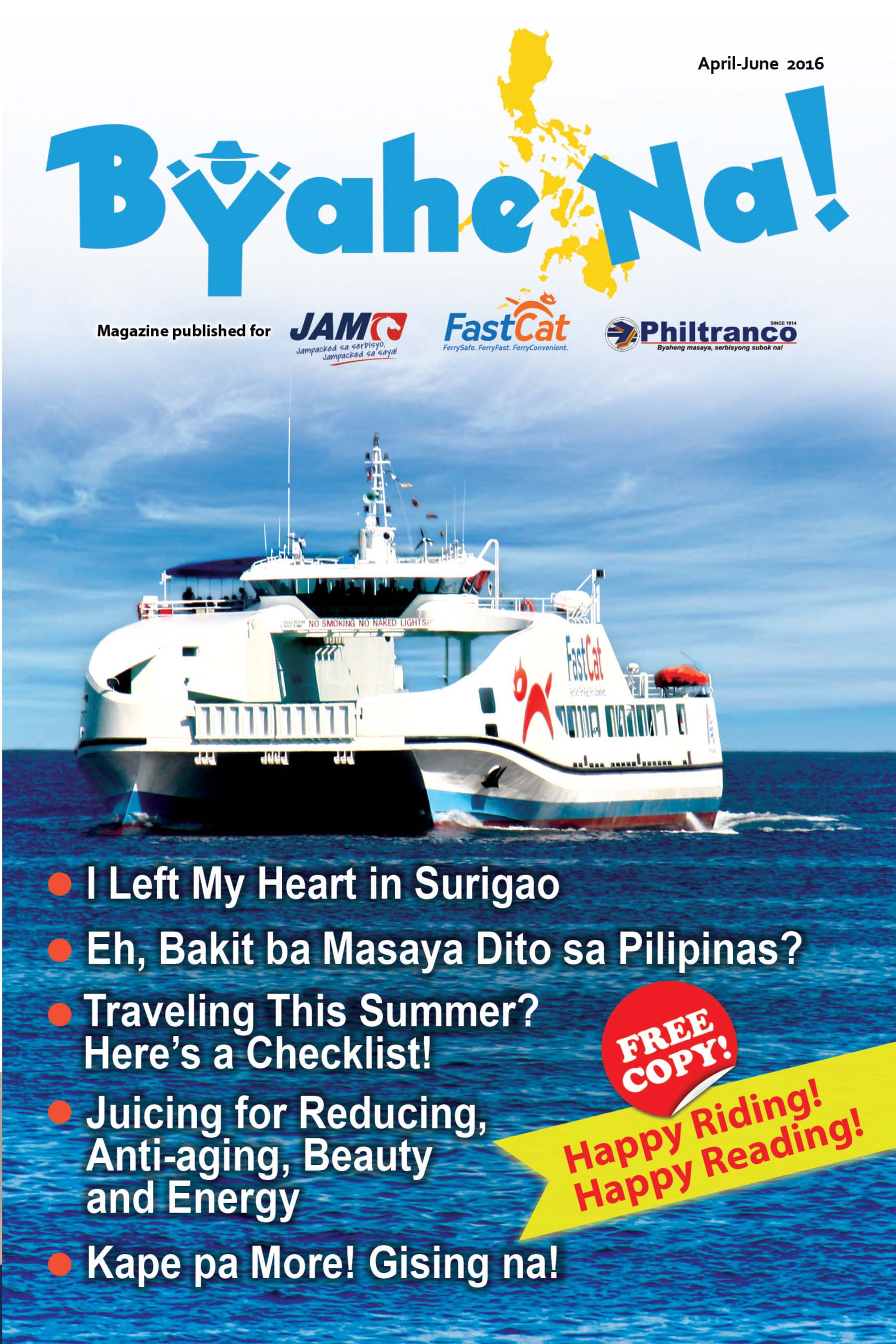 Byahe Na! 9th issue
